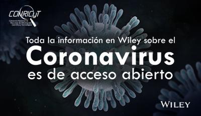 Wiley pone en acceso abierto su contenido sobre el Coronavirus