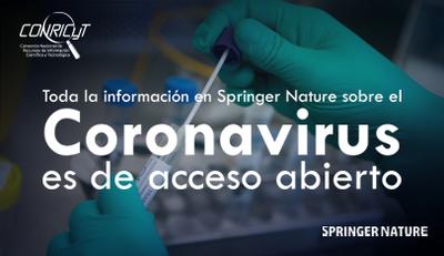 Springer Nature pone en Acceso Abierto su contenido sobre Coronavirus