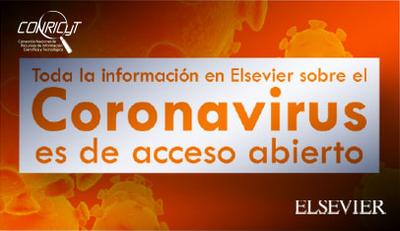 Elsevier pone en Acceso Abierto contenido sobre Coronavirus