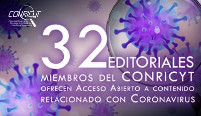 Editoriales con Acceso Abierto sobre Coronavirus
